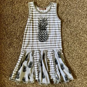 Jelly the Pug size 6 Pineapple dress